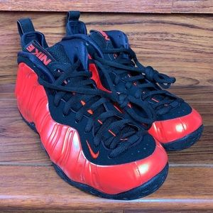 NEW Nike Air Foamposite One 'Habanero Red'